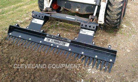 skid steer landscape rake landscape rake attachment loegering eliminator