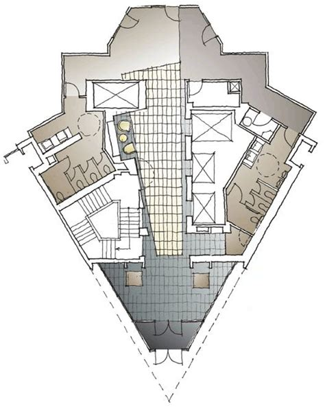 triangle floor plan triangle pointe