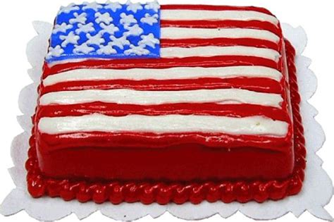 Flag Cake Two Ways Beginner Expert by Flag Sheet Cake W S Dollhouse Miniature