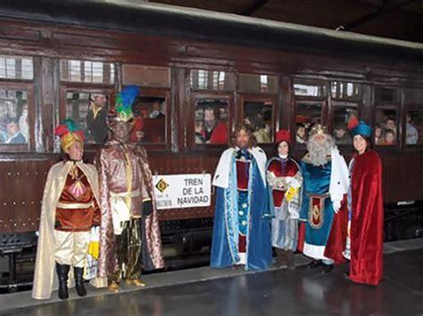 imagenes de navidad tren el tren de la navidad llega a madrid