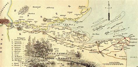 river thames surrey map pirates privateers sir henry mainwaring