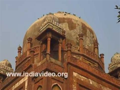 memorial babur mughal emperor delhi india youtube