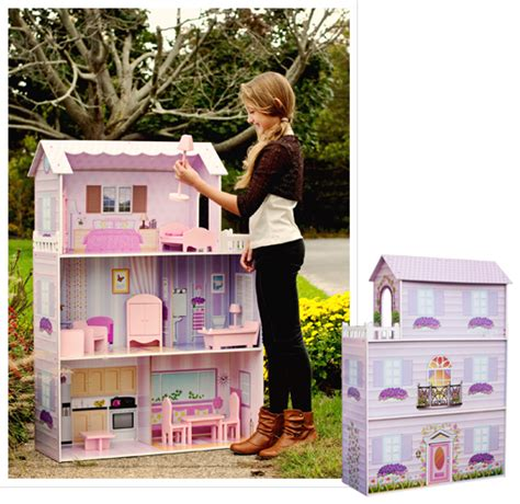 fancy doll houses teamson large dollhouse with furniture 59 99 shipped from 1saleaday reg 219
