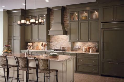mushroom kitchen cabinets lovely mushroom colored cabinets colored kitchen