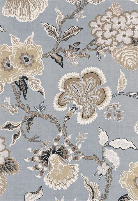 schumacher upholstery fabric schumacher celerie kemble hot house flowers mineral fabric