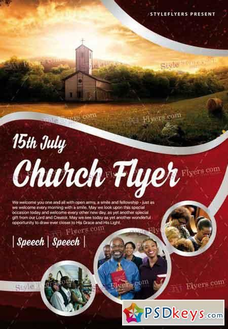 Church Flyer Templates Photoshop church psd flyer template 187 free photoshop vector