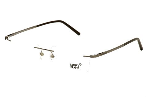 mont blanc eyeglasses mb0293 mb 0293 rimless optical frame