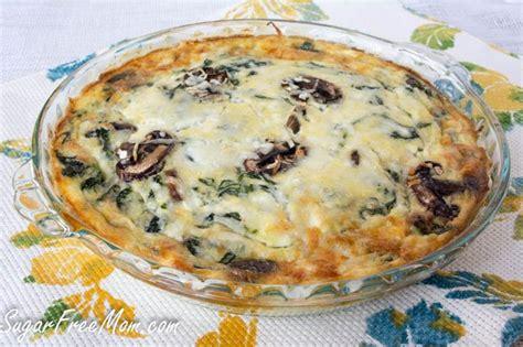 Crustless Quiche Recipe Cottage Cheese by Crustless Spinach Pie Recipe Yogurt Spinach