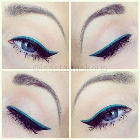 colorful eyeliner 6 tips on how to rock colored eyeliner colorful eyeliner