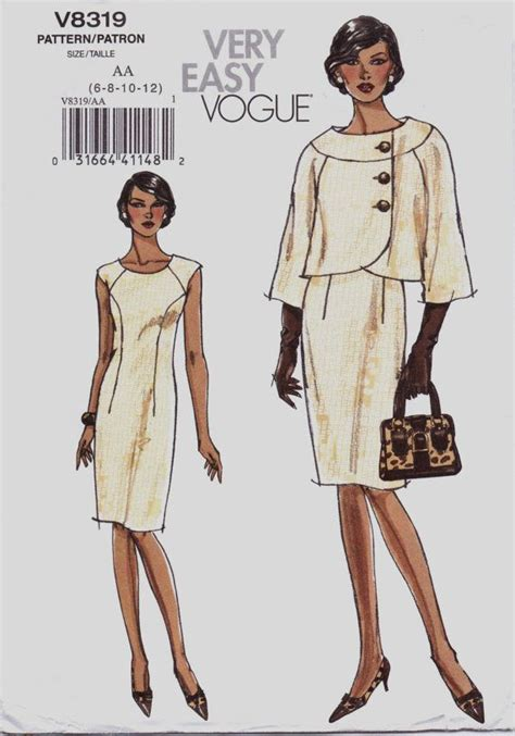vogue pattern ease very easy vogue sewing pattern v8319 womens asymmetrical