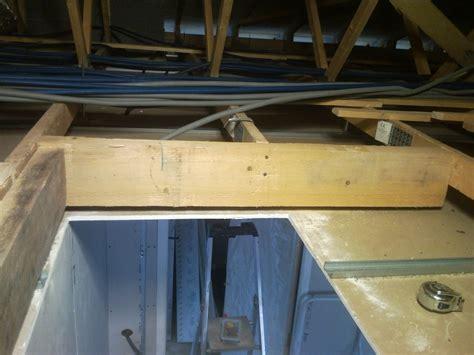 l escalier escamotable construction de notre maison