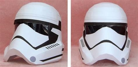 Papercraft Stormtrooper Helmet - papermau wars new stormtrooper wearable helmet