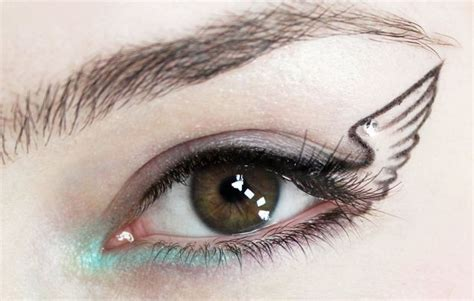 winged eyeliner tattoo 58 best eyeliner images on eyeliner