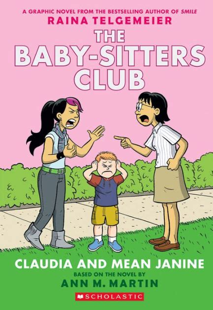 Barnes And Noble Coloring Claudia And Mean Janine Full Color Edition The Baby