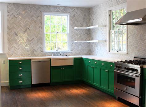 Lime Green Kitchen Ideas Kitchens Green Tiles Recycled Tiles For Backsplashes