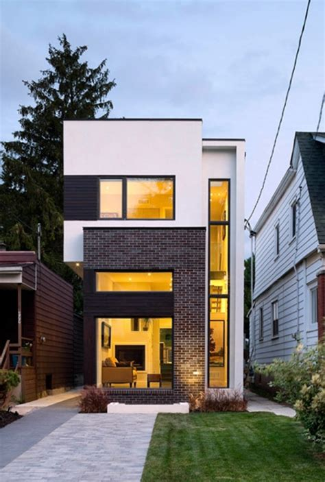Six Cool And Contemporary House Exteriors Toronto And | house exterior design toronto with regard to found