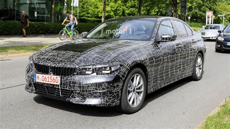 Bmw 3 Series 2019 Usa by 2019 Bmw 3 Series Spotted With Less Camo Than Before
