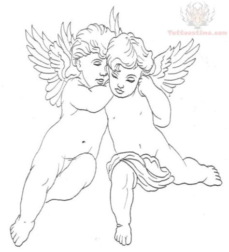 cupid tattoo design cupid cherub images designs