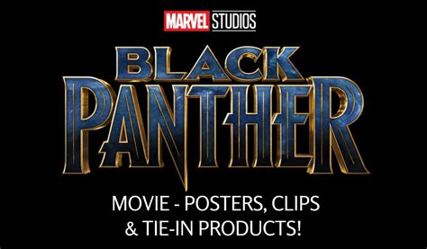 Home Decor Nation marvel studios black panther movie posters clips amp tie