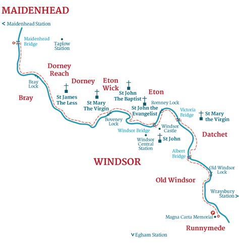 river thames map windsor stage 10 the thames pilgrim waythe thames pilgrim way