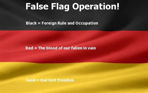 german flag colors meaning the original flag of the german vs the false flag