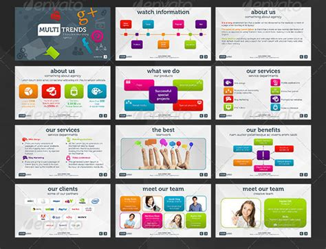professional presentation powerpoint templates 26 minimal presentation templates design freebies