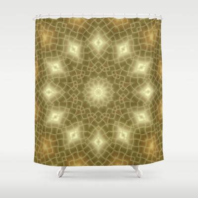 gold and brown shower curtain gold and brown shower curtain by lena from society6 shower