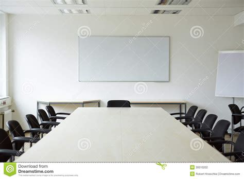 clean conference room stock photography image