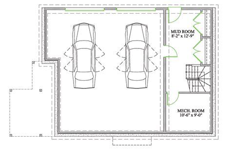 plan de garage 2 voitures cm78 aieasyspain