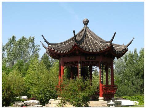 chinesischer pavillon chinesischer pavillon bild foto inge st 252 we aus