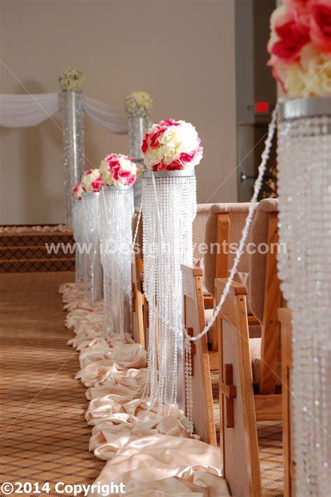 ideas for decoratingpillars for xmas pillar aisle decor rd scent wedding aisle decoration pillars pedestals columns