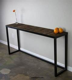 sofa table modern modern sofa table reclaimed wood modern vintage