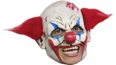 How To Make A Clown Mask Out Of Paper - evil clown mask for adults vegaoo