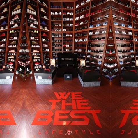dj khaled shoes dj khaled just remodeled his sneaker room and it s