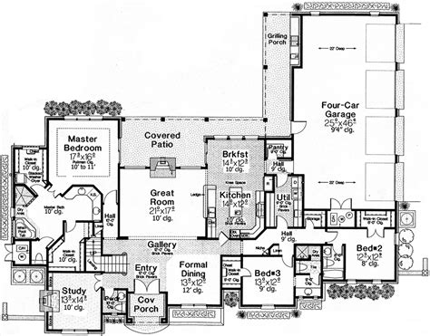 old world floor plans old world charm 48373fm 1st floor master suite bonus