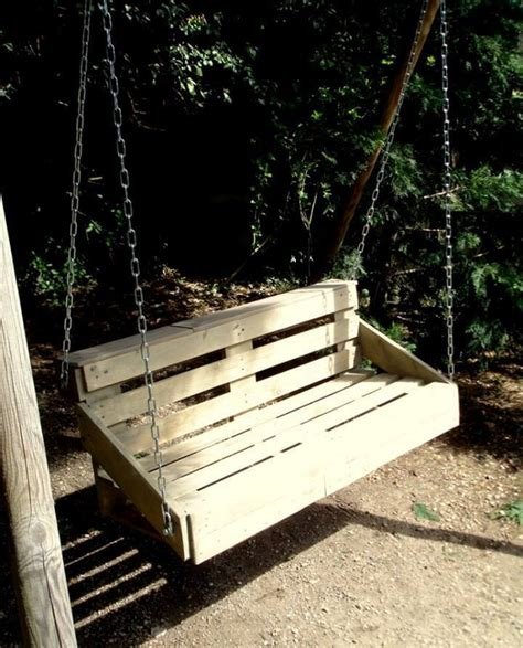 how to make pallet swing pallet swing for garden