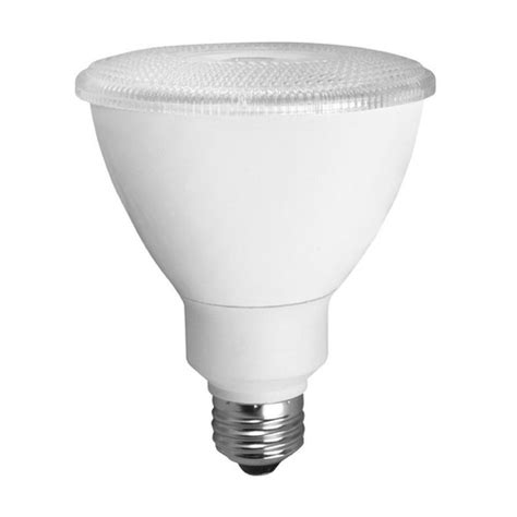 75 Watt Led Light Bulb Tcp Dimmable Flood Par30 Led Light Bulb 75 Watt Equivalent Led12p30d30kfl Destination Lighting