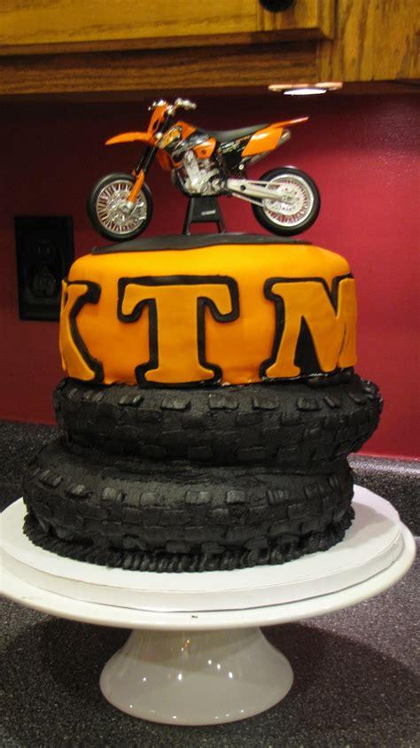 motocross bike cake ktm motocross cake party ideas pinterest birthdays