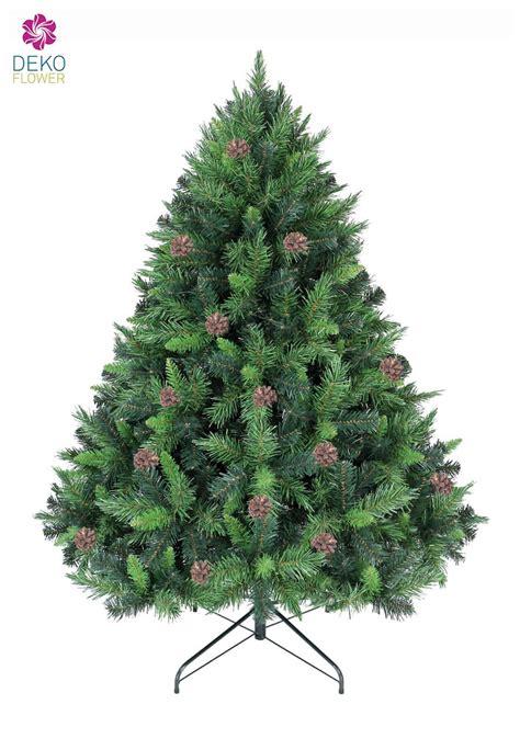 k 252 nstlicher weihnachtsbaum mit tannenzapfen 150cm