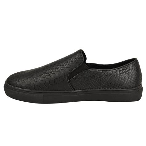Casual Pumps 1 new skater pumps womens casual trainers black work