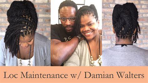 damien walter dreadlocks loc maintenance and styling with damian walter youtube