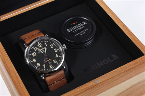 Handmade Watches Detroit - shinola limited edition 40mm runwell cool