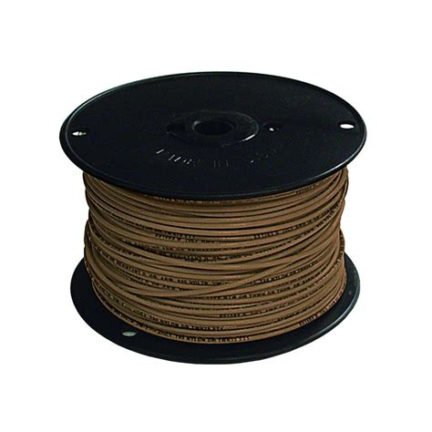 and brown wires southwire 500 ft 16 brown stranded tffn fixture wire