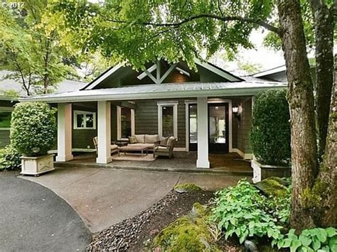 finished porch craftsman style homes pinterest modified and accessible entrance portland or dream