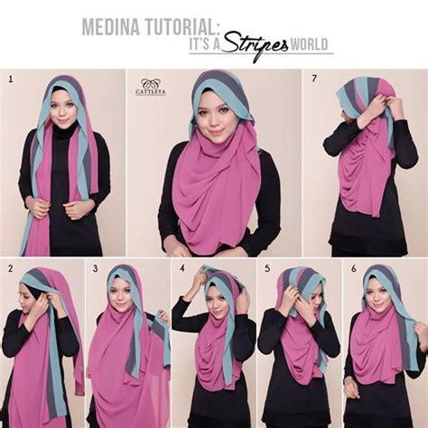 tutorial pakai niqab rainbow shawl tutorial shawl tutorial stepbystep sweet