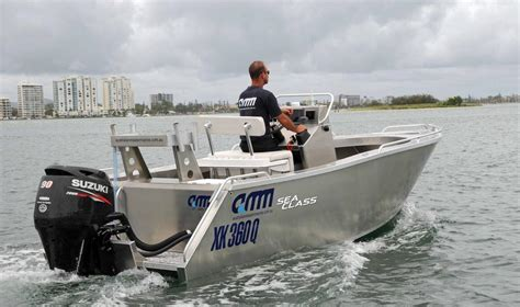 performance boats brendale australian master marine conduct sea class trials on new boats