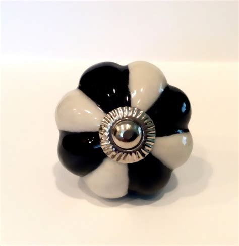 black and white porcelain cabinet knobs dresser drawer