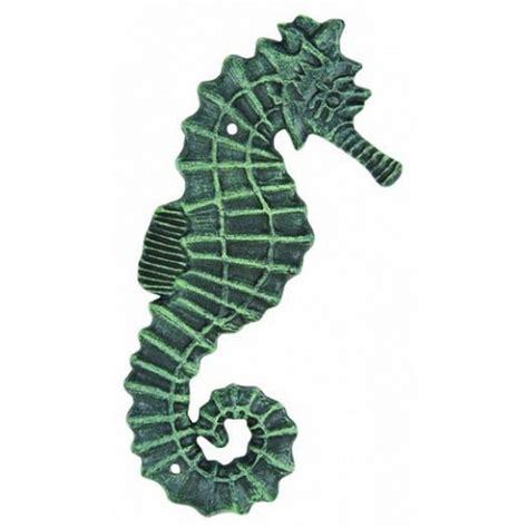 Seahorse Wall Decor by Buy Seaworn Cast Iron Seahorse Wall Decor 11 Inch