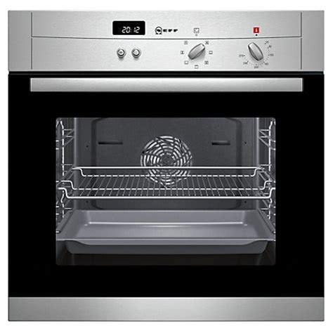 Design Your Kitchen Online For Free Buy Neff B12s52n3gb Single Electric Oven Stainless Steel