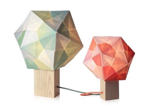 Origami Polyhedra Design - origami polyhedra lighting from note design studio
